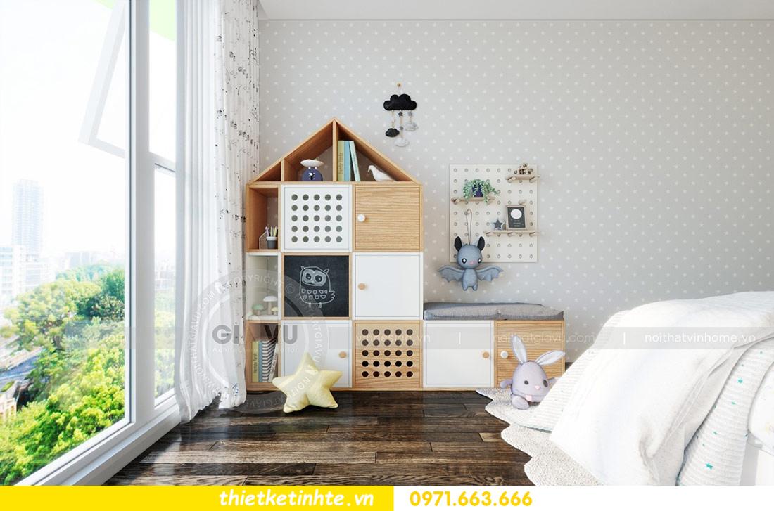 thiết kế nội thất căn hộ Vinhomes Skylake tòa S2 căn 06 nhà anh Nam 12