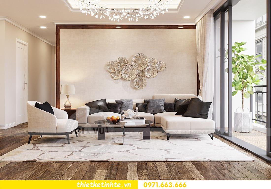 thiết kế nội thất chung cư DCapitale tòa C3 căn 04 nhà anh Hòa 02