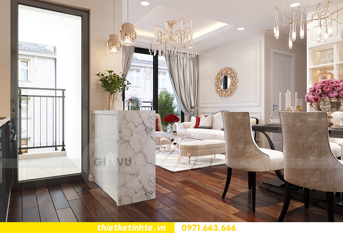 công ty thiết kế thi công nội thất chung cư cao cấp 02