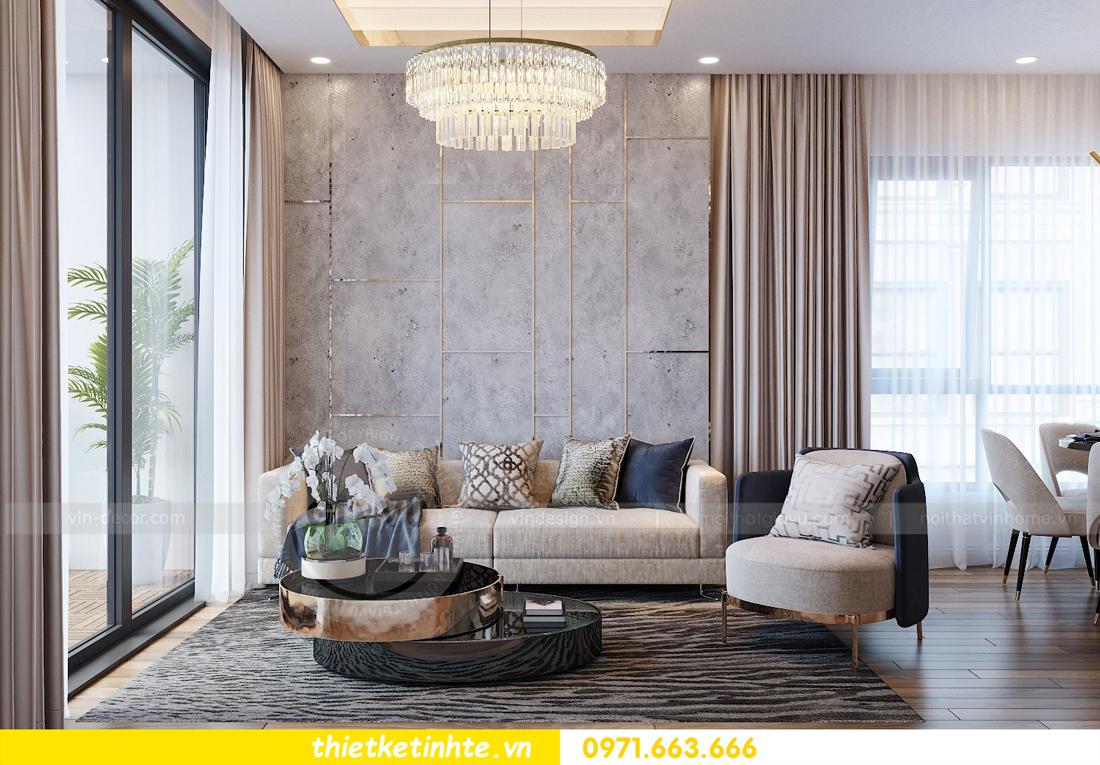 thiết kế nội thất chung cư Vinhomes Mễ Trì tòa G2 căn 05 nhà chị Trang 01