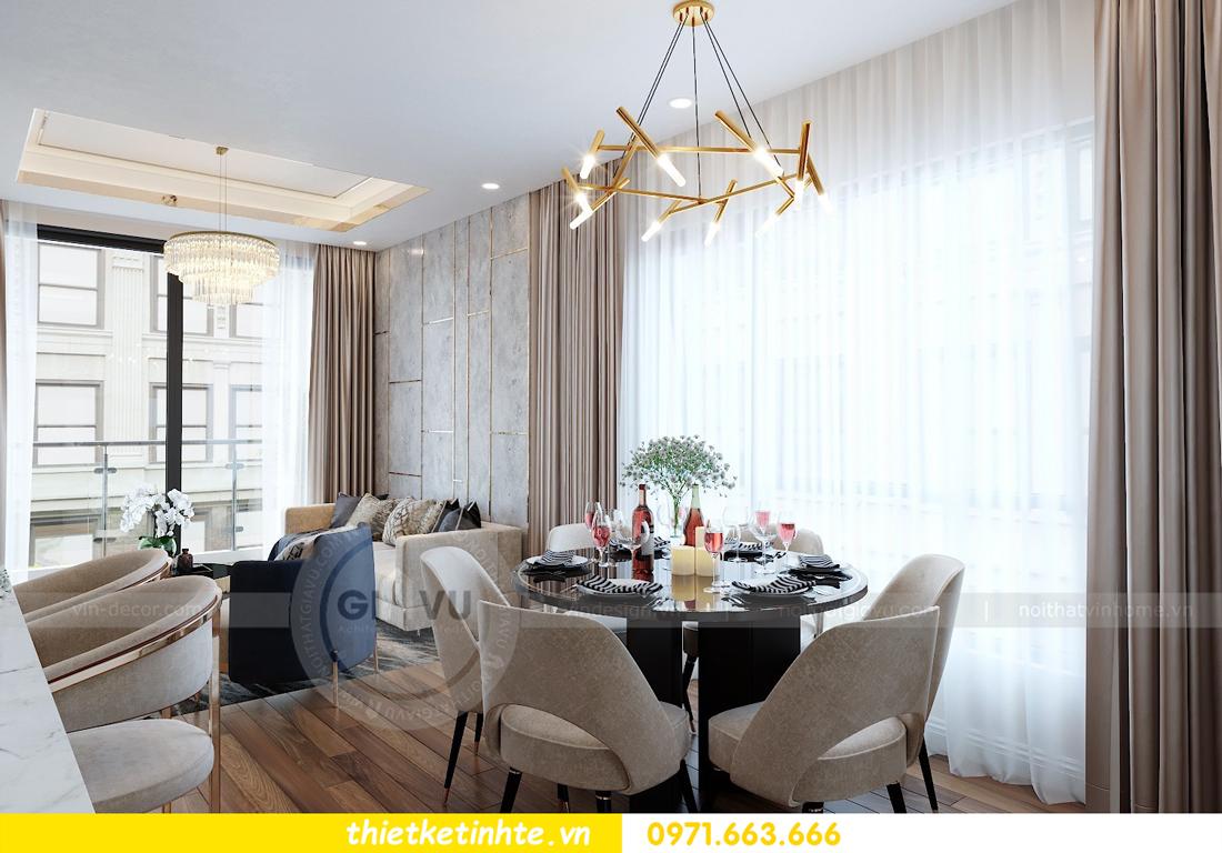 thiết kế nội thất chung cư Vinhomes Mễ Trì tòa G2 căn 05 nhà chị Trang 02