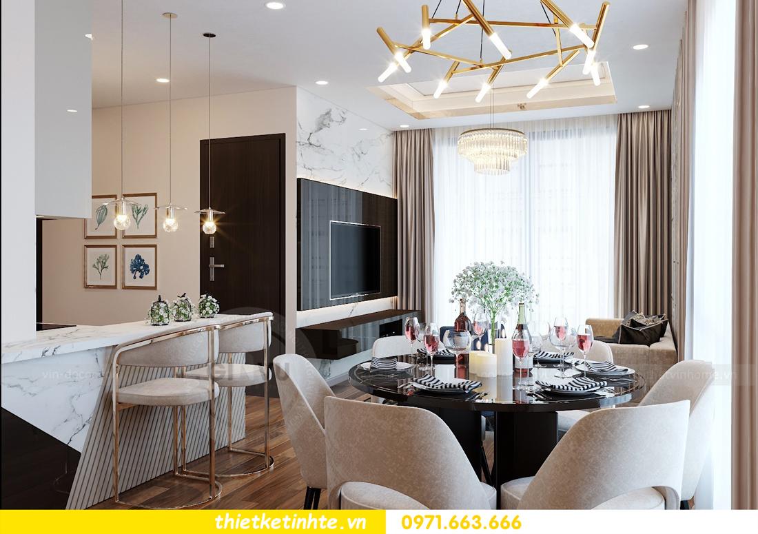 thiết kế nội thất chung cư Vinhomes Mễ Trì tòa G2 căn 05 nhà chị Trang 03