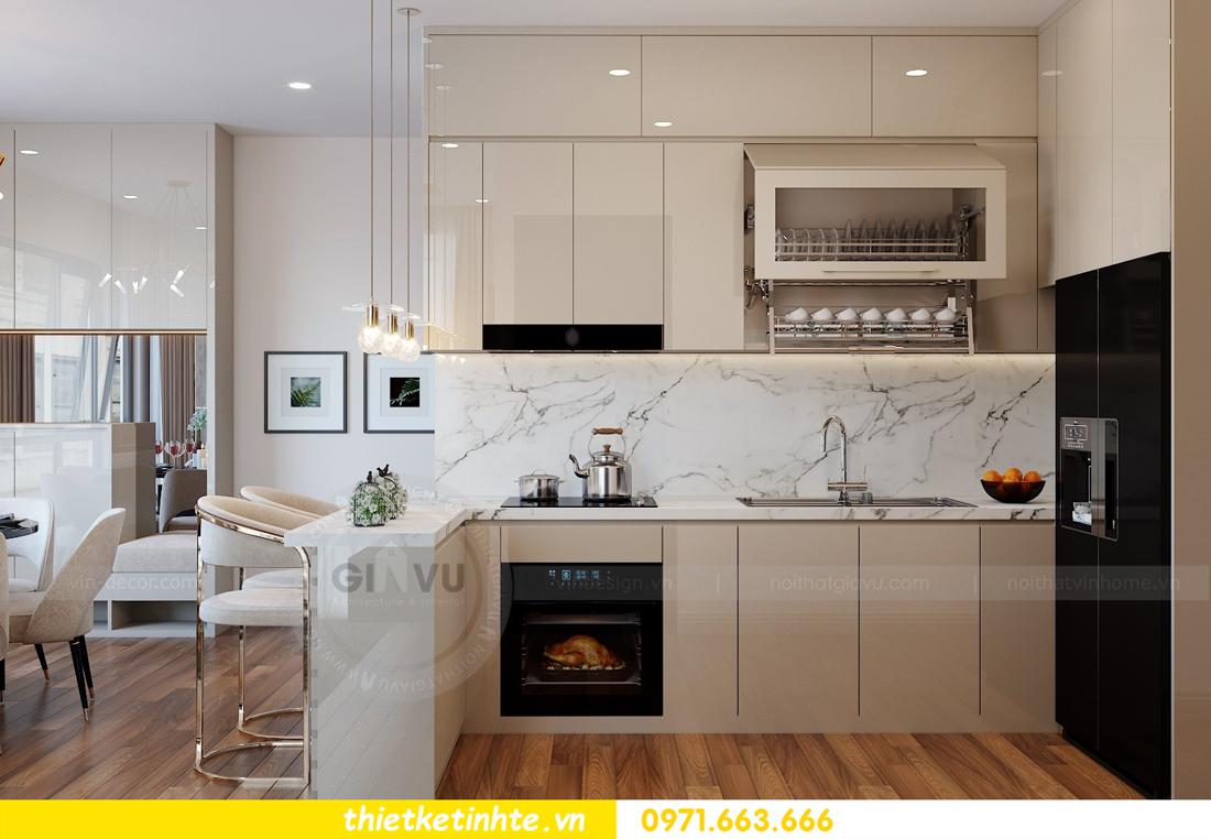 thiết kế nội thất chung cư Vinhomes Mễ Trì tòa G2 căn 05 nhà chị Trang 04