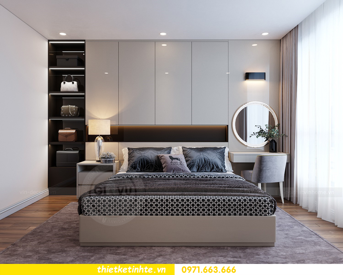 thiết kế nội thất chung cư Vinhomes Mễ Trì tòa G2 căn 05 nhà chị Trang 05