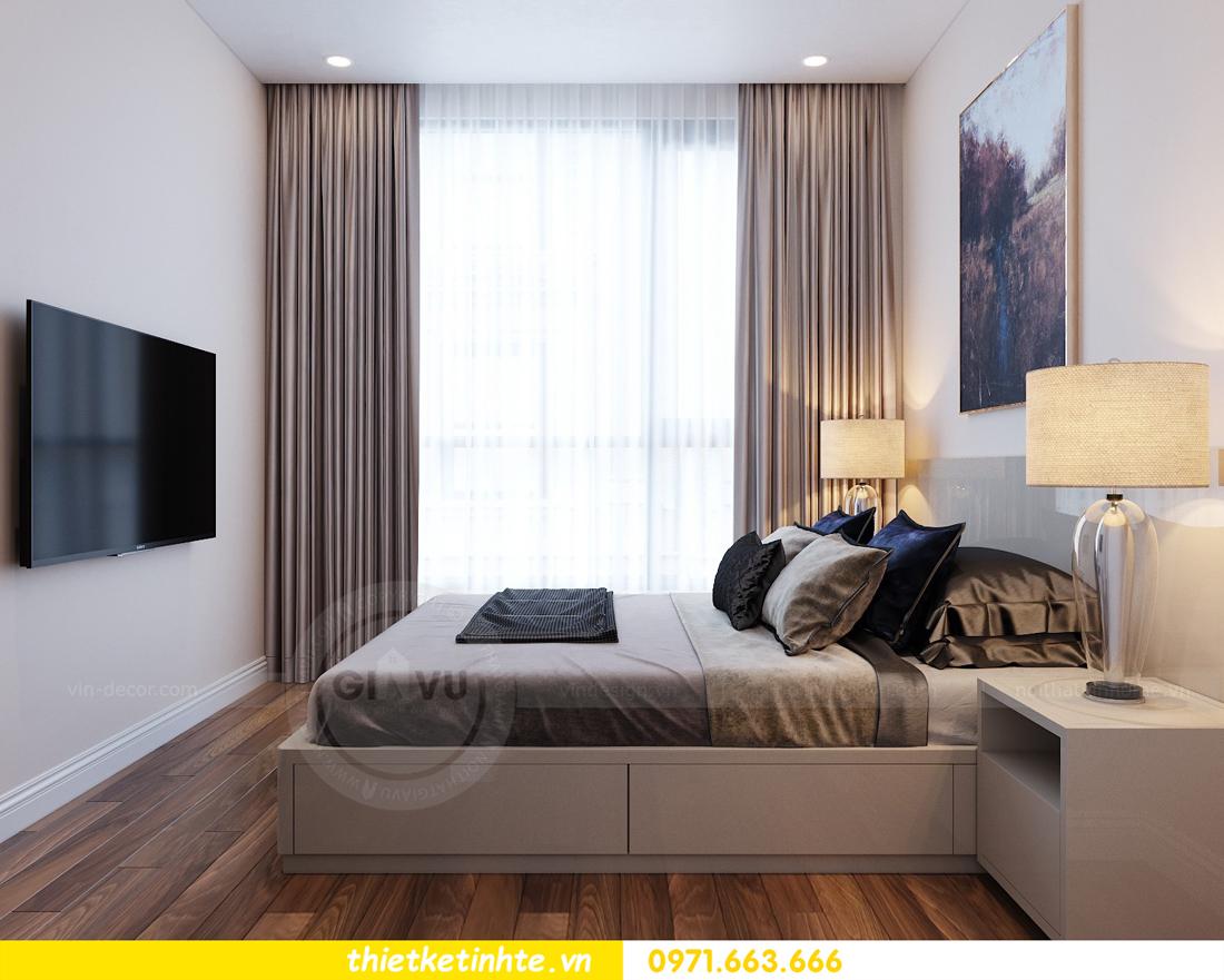 thiết kế nội thất chung cư Vinhomes Mễ Trì tòa G2 căn 05 nhà chị Trang 09