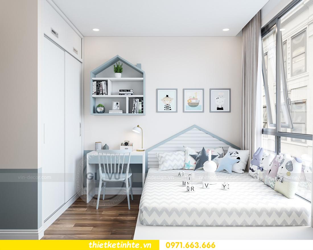 thiết kế nội thất chung cư Vinhomes Mễ Trì tòa G2 căn 05 nhà chị Trang 10