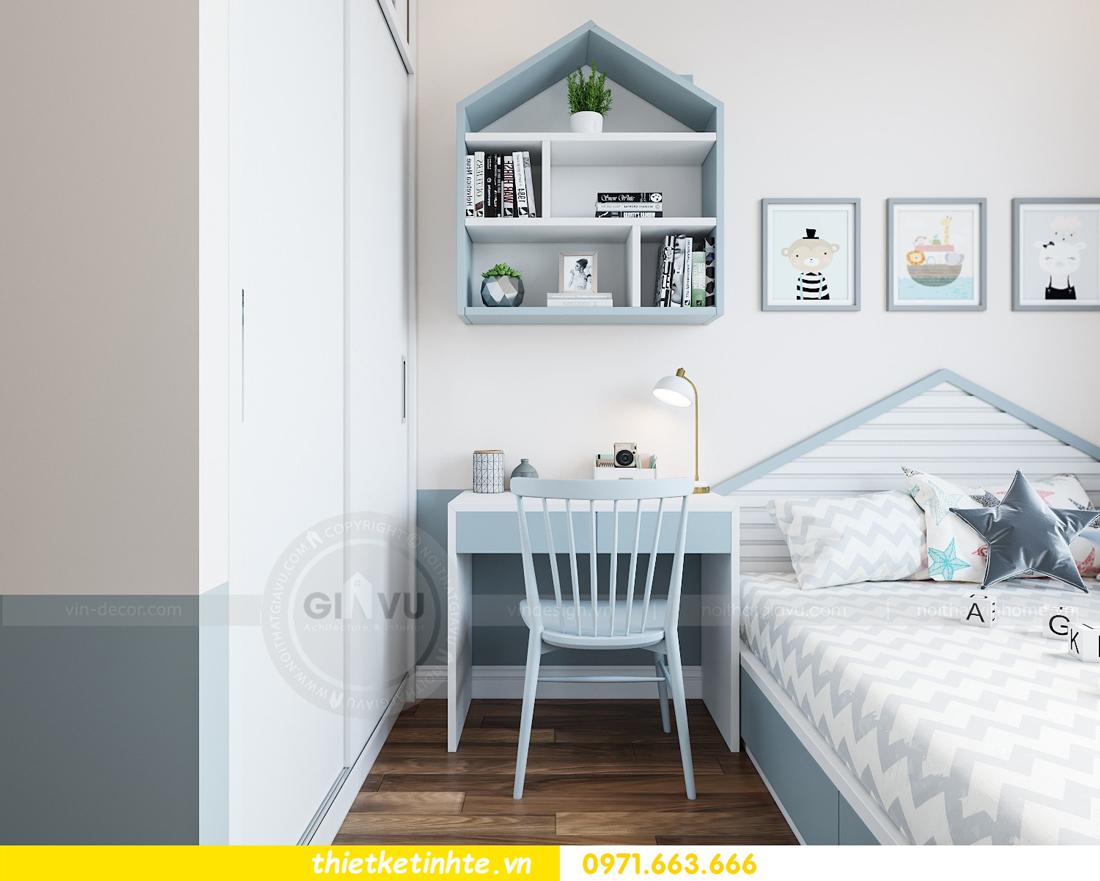 thiết kế nội thất chung cư Vinhomes Mễ Trì tòa G2 căn 05 nhà chị Trang 11