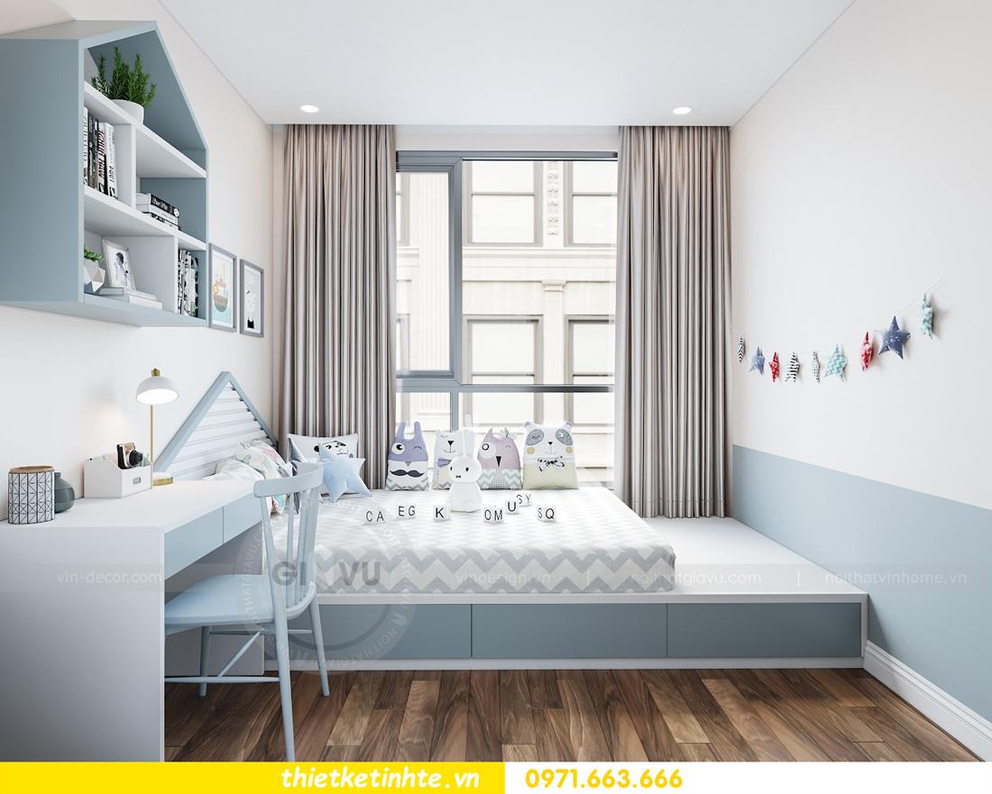 thiết kế nội thất chung cư Vinhomes Mễ Trì tòa G2 căn 05 nhà chị Trang 12