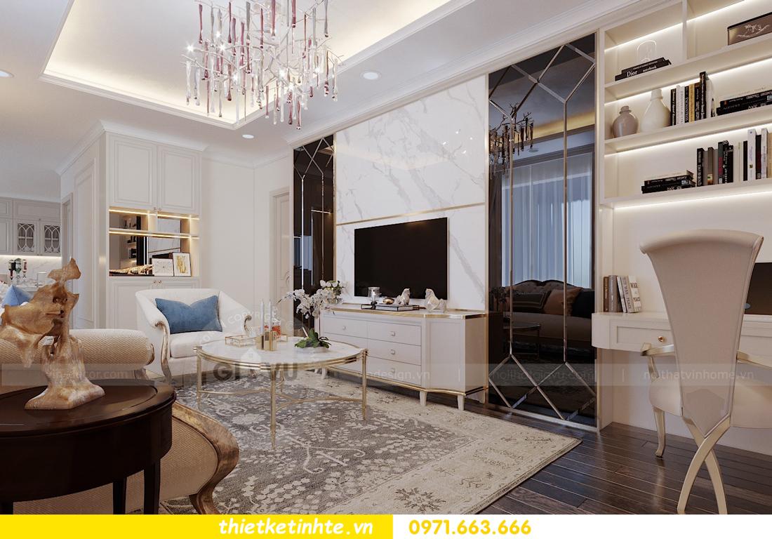 thiết kế thi công nội thất chung cư Green Bay tòa G1 05-05A chị Thu 03