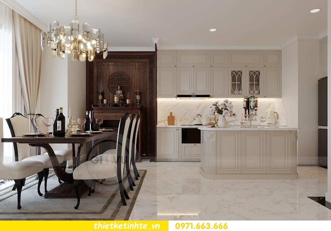 thiết kế thi công nội thất chung cư Green Bay tòa G1 05-05A chị Thu 04