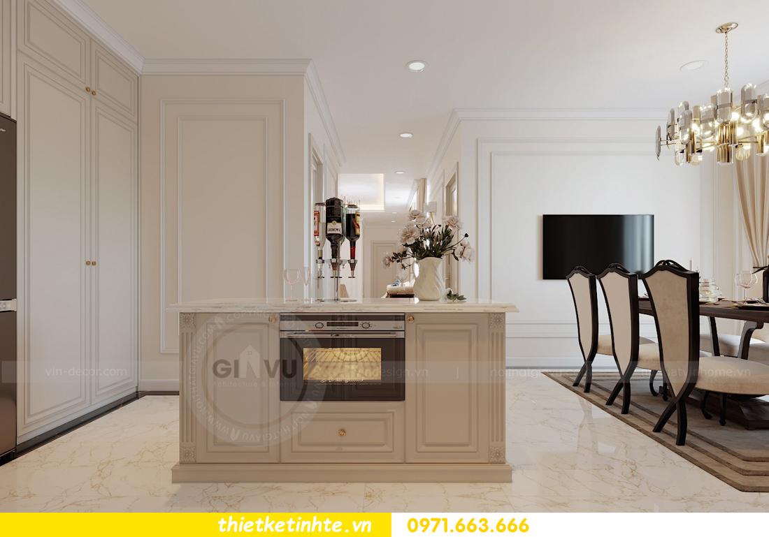 thiết kế thi công nội thất chung cư Green Bay tòa G1 05-05A chị Thu 05
