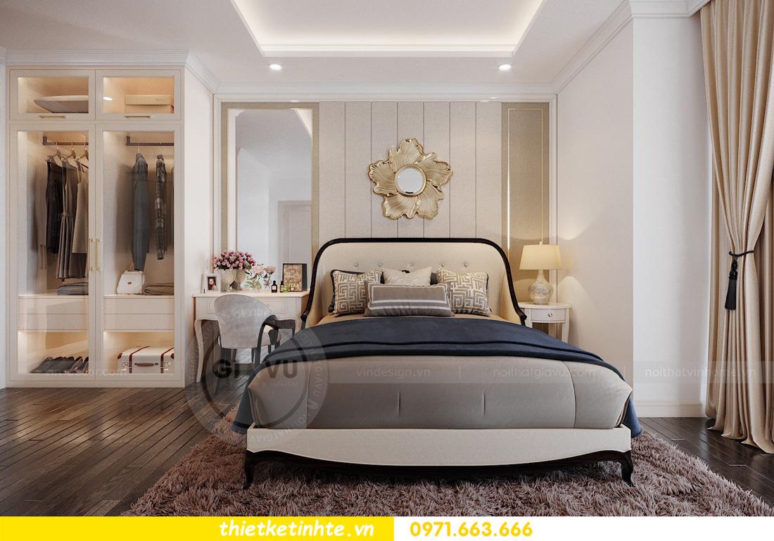 thiết kế thi công nội thất chung cư Green Bay tòa G1 05-05A chị Thu 09