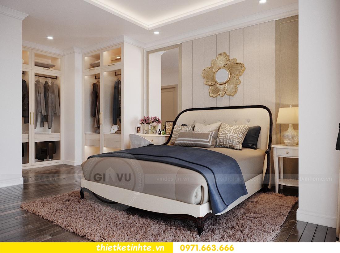 thiết kế thi công nội thất chung cư Green Bay tòa G1 05-05A chị Thu 10
