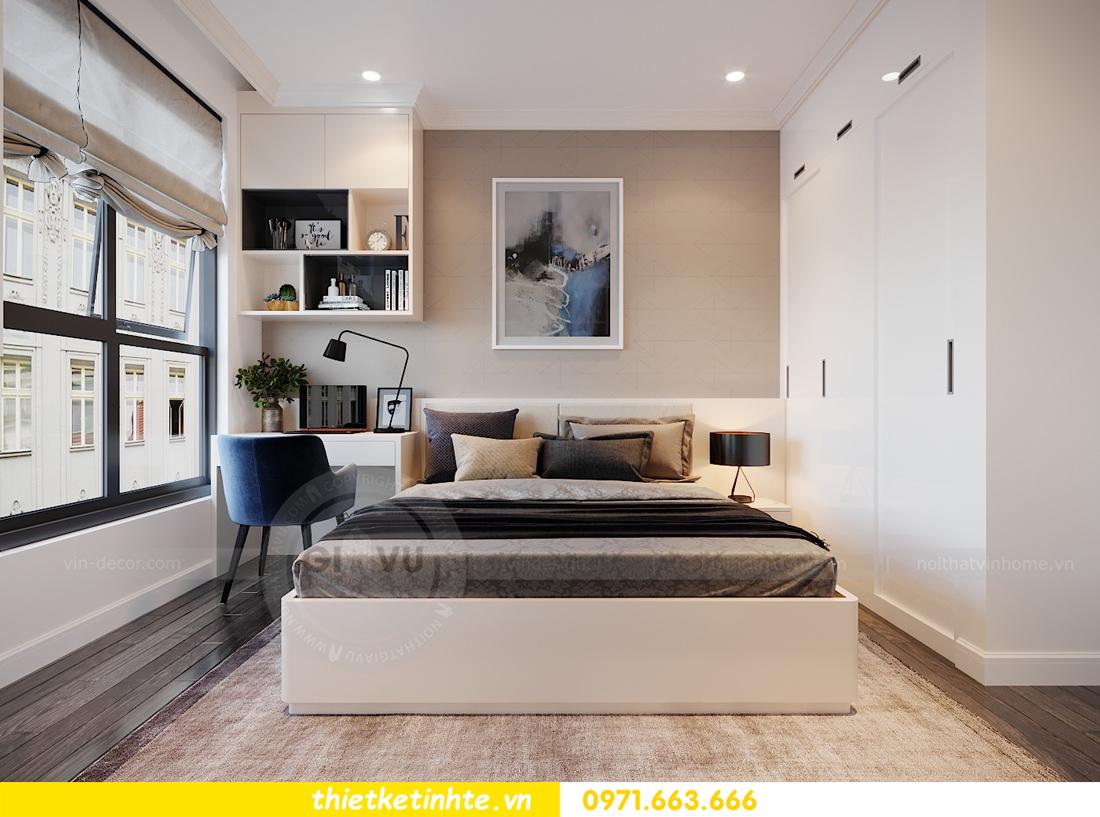 thiết kế thi công nội thất chung cư Green Bay tòa G1 05-05A chị Thu 13