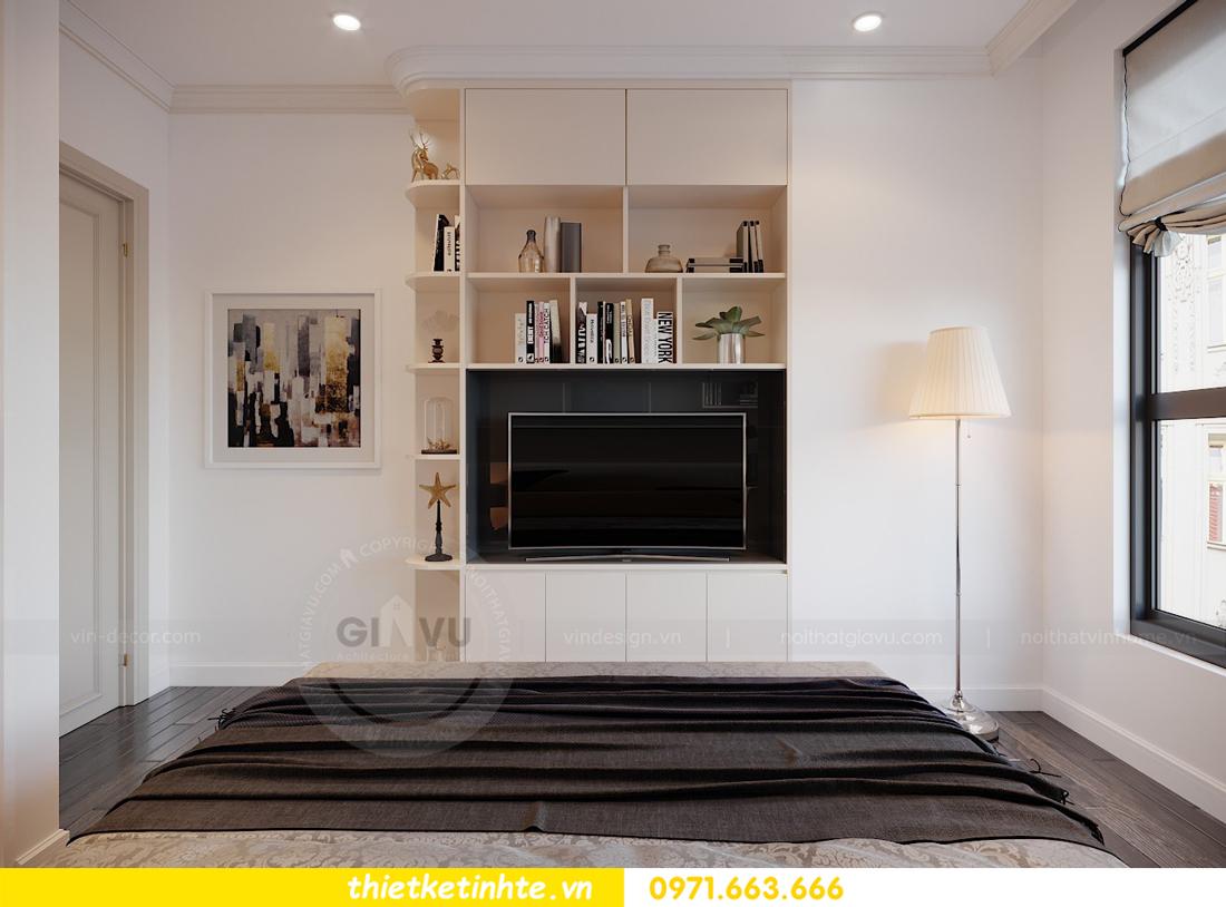 thiết kế thi công nội thất chung cư Green Bay tòa G1 05-05A chị Thu 14