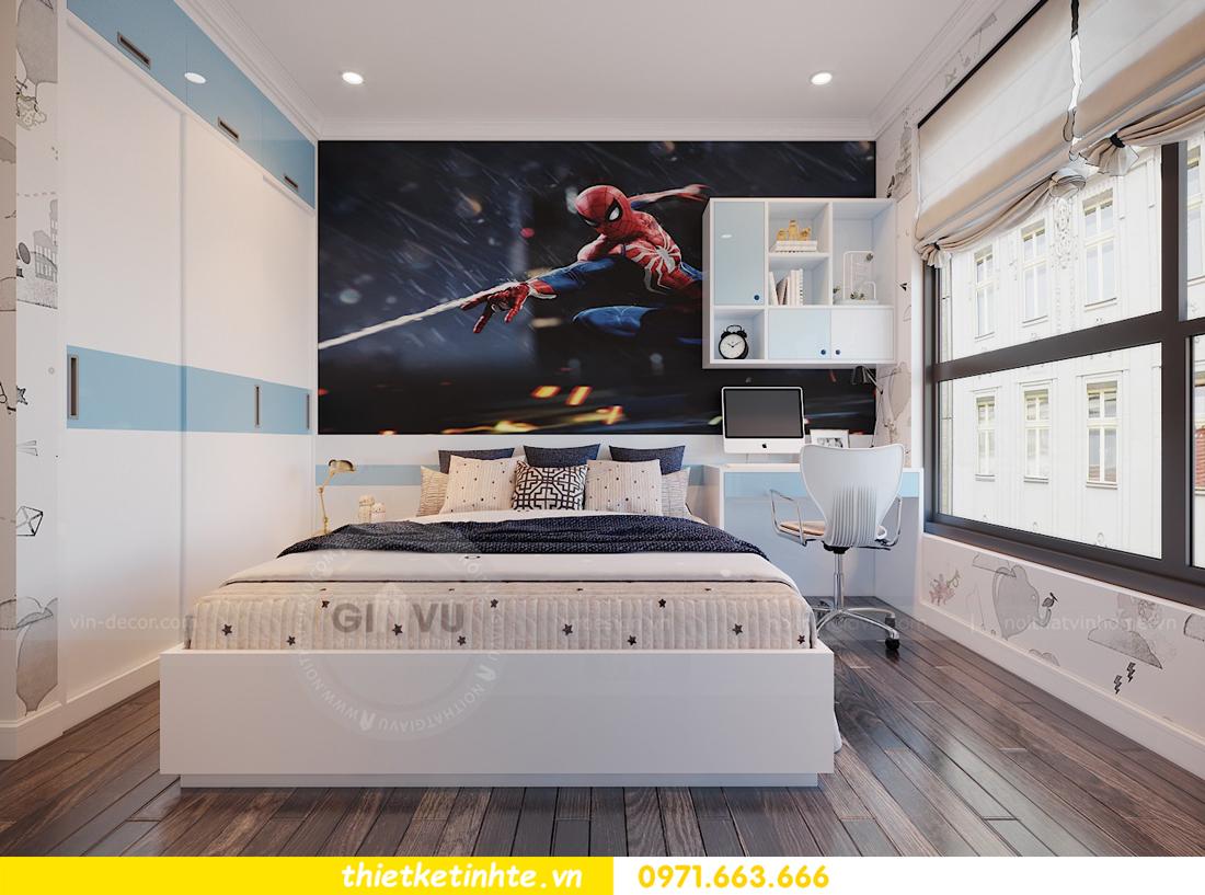 thiết kế thi công nội thất chung cư Green Bay tòa G1 05-05A chị Thu 15
