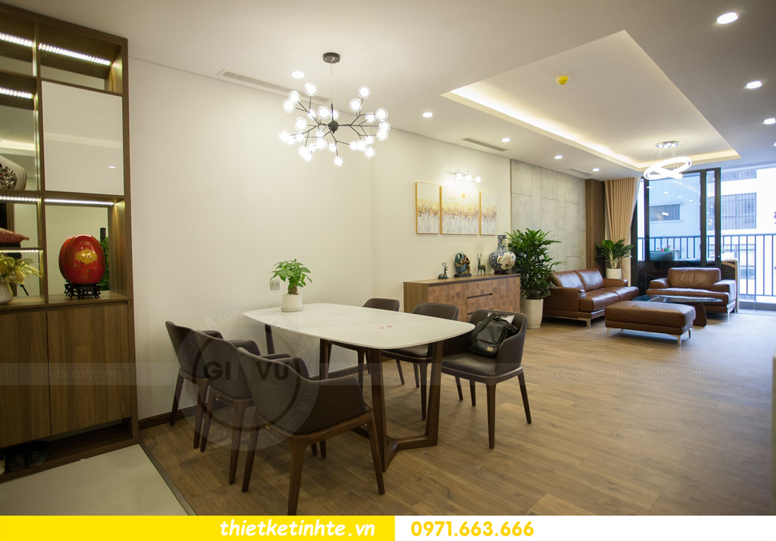 thi công nội thất chung cư tại Hà Nội chỉ với 200 triệu 02