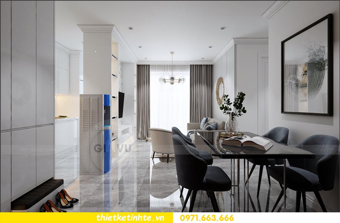 thiết kế nội thất căn hộ sang trọng tại Vinhomes D Capitale tòa C109 01