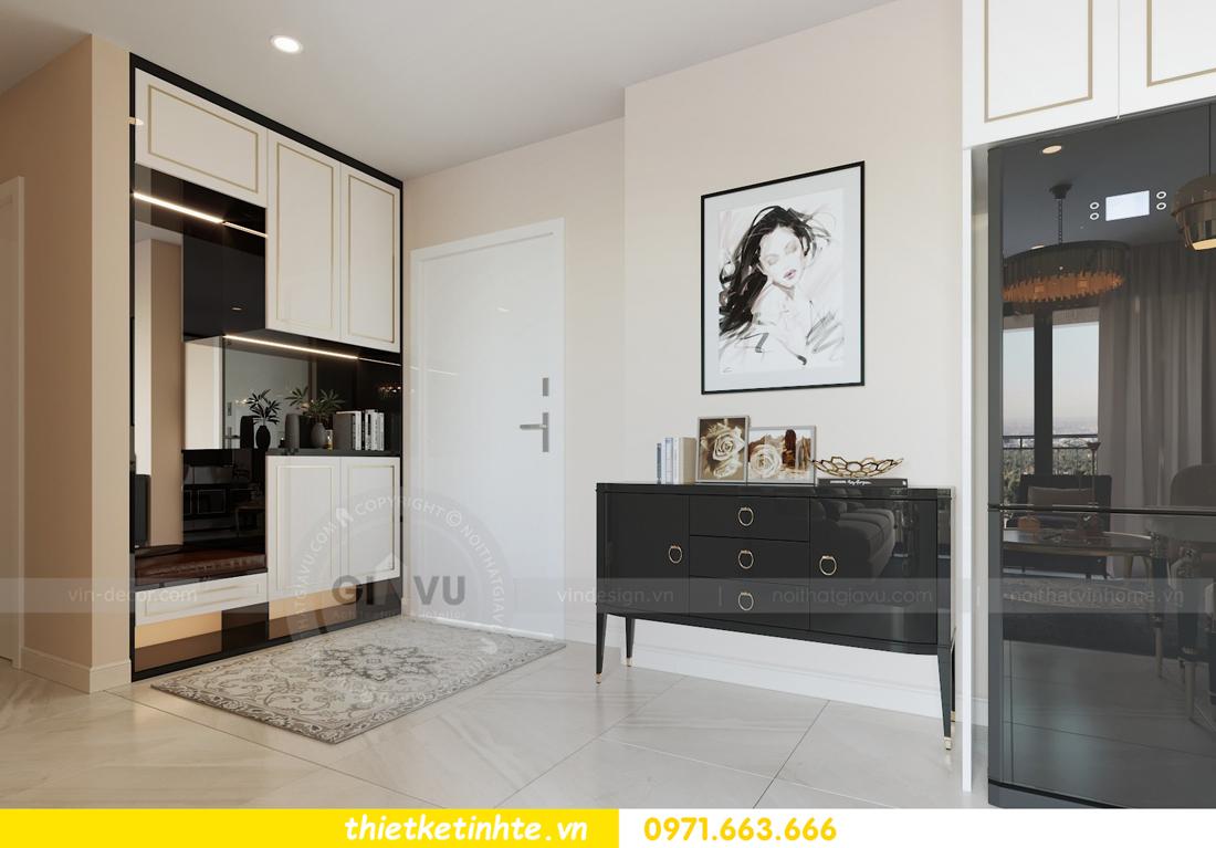 thiết kế nội thất chung cư hiện đại tòa C3 căn 05 Vinhomes D Capitale 01