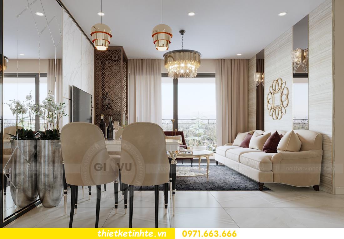 thiết kế nội thất chung cư hiện đại tòa C3 căn 05 Vinhomes D Capitale 05