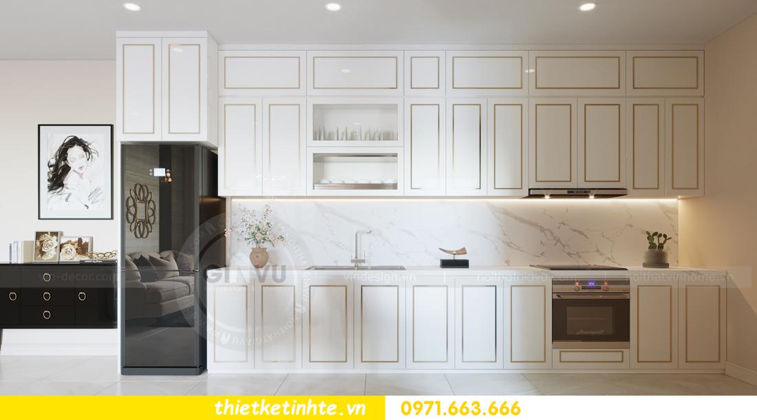 thiết kế nội thất chung cư hiện đại tòa C3 căn 05 Vinhomes D Capitale 06