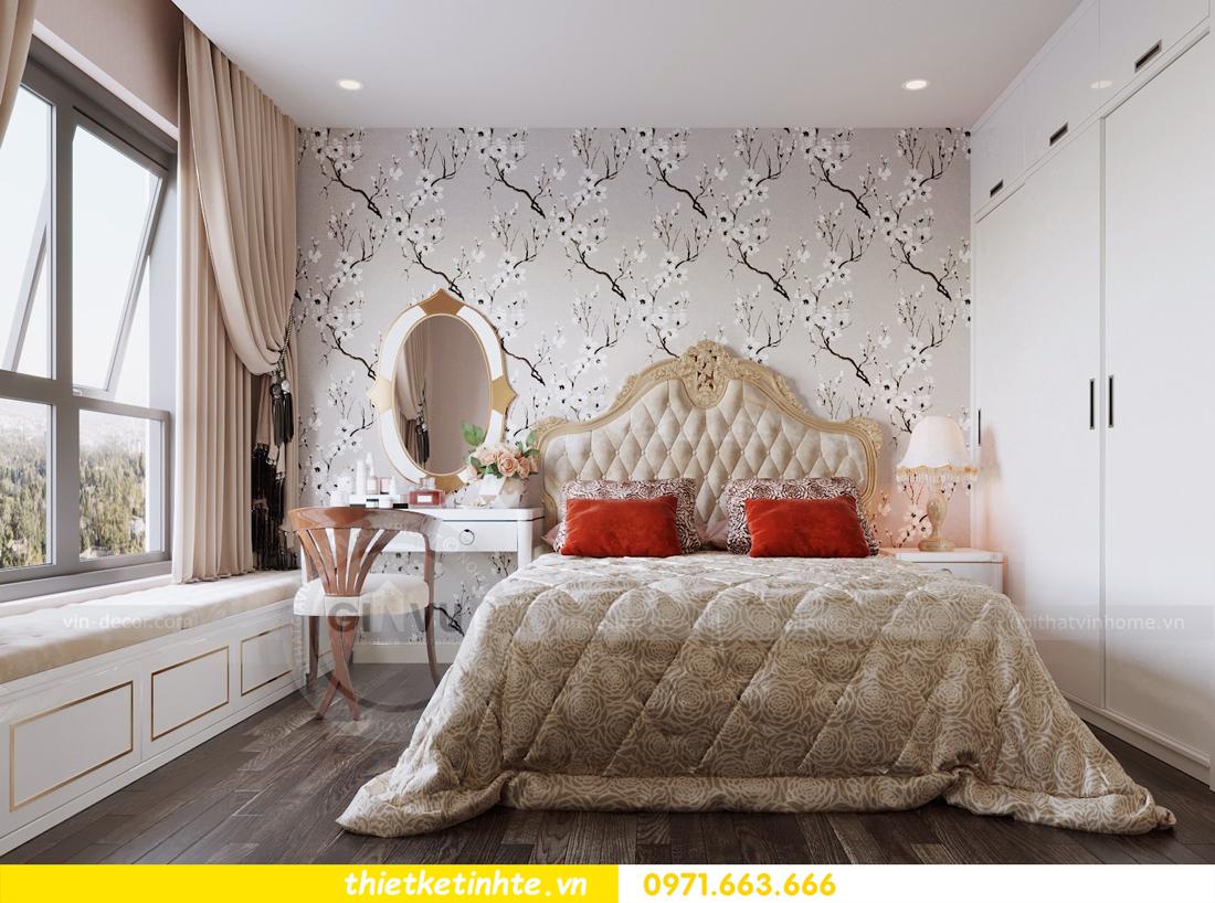 thiết kế nội thất chung cư hiện đại tòa C3 căn 05 Vinhomes D Capitale 07