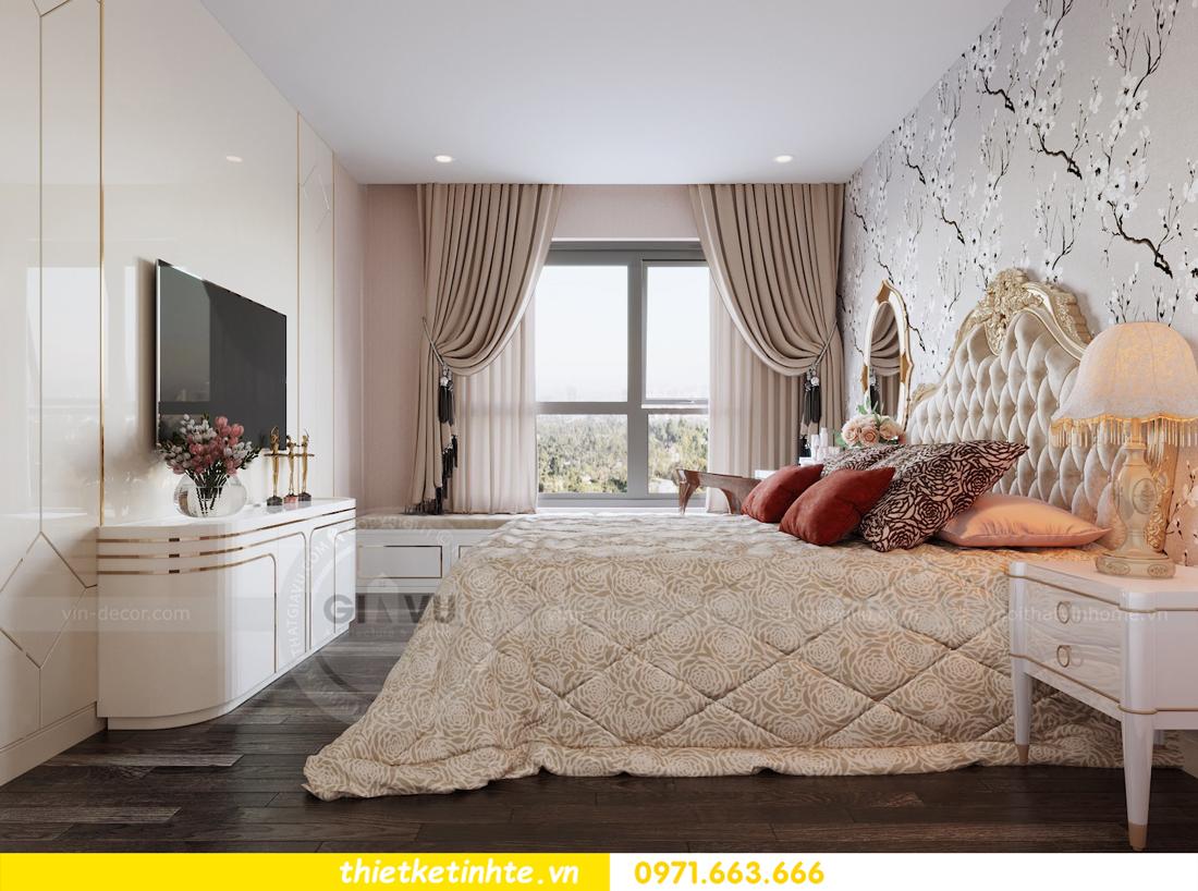 thiết kế nội thất chung cư hiện đại tòa C3 căn 05 Vinhomes D Capitale 08