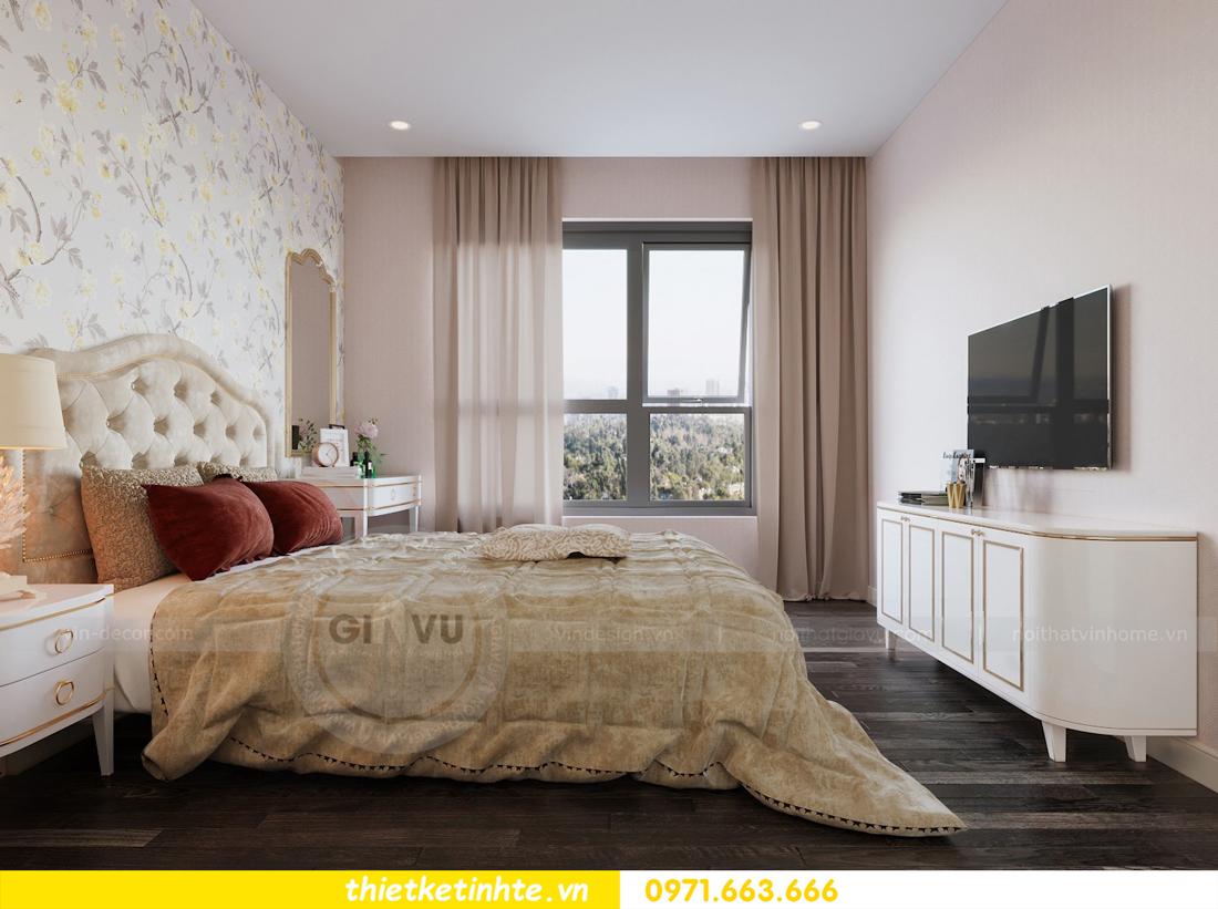 thiết kế nội thất chung cư hiện đại tòa C3 căn 05 Vinhomes D Capitale 10