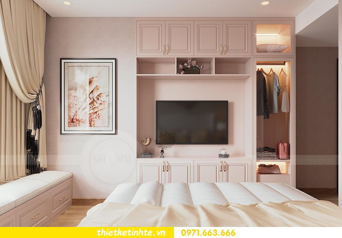 thiết kế nội thất chung cư Sun Grand City Lương Yên tòa T2 căn 01 view10