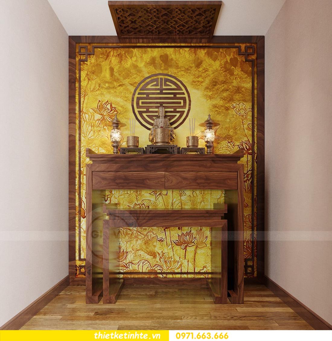 thiết kế nội thất chung cư Sun Grand City Lương Yên tòa T2 căn 01 view13