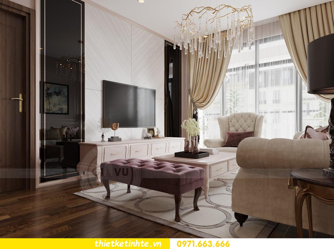 thiết kế nội thất chung cư Sun Grand City Lương Yên tòa T2 căn 01 view5