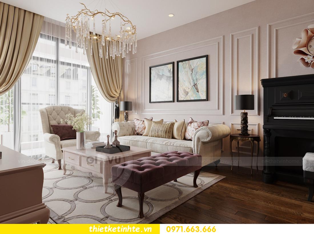 thiết kế nội thất chung cư Sun Grand City Lương Yên tòa T2 căn 01 view6