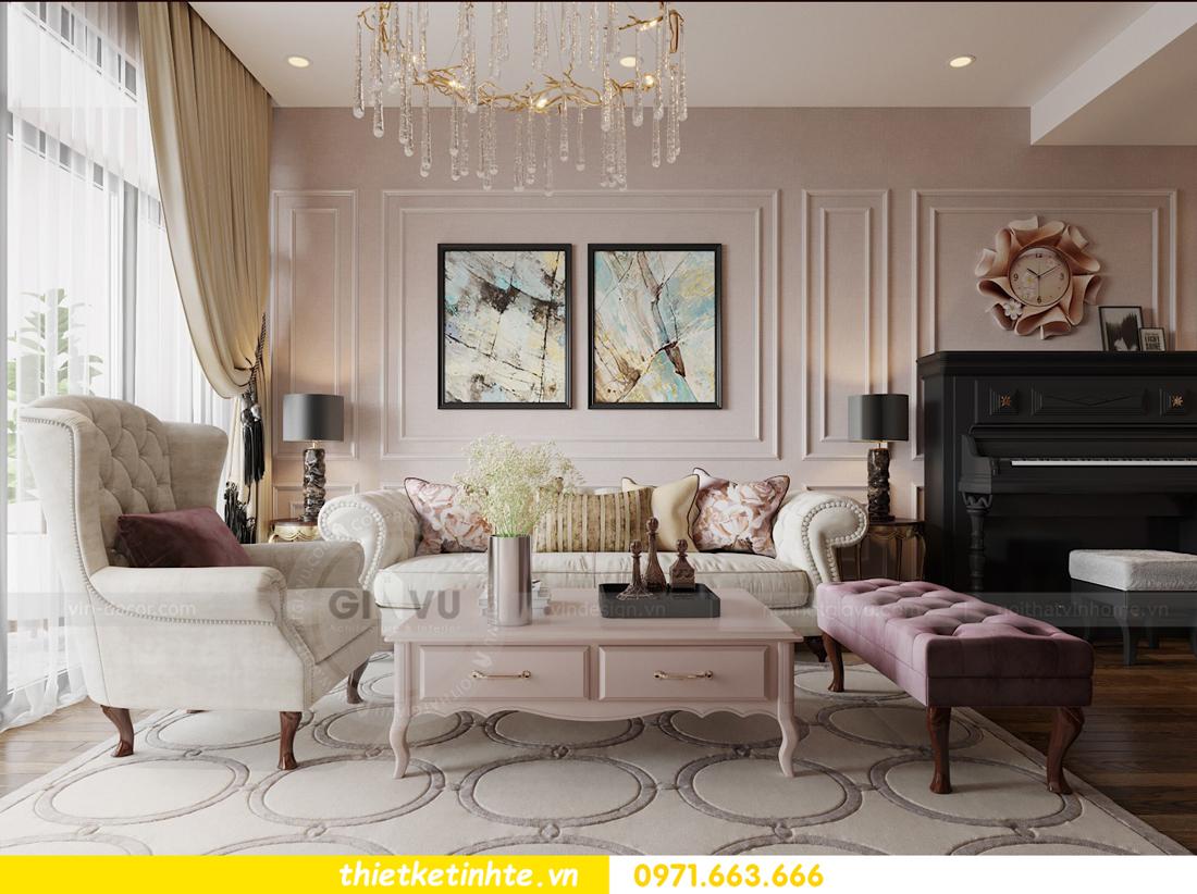 thiết kế nội thất chung cư Sun Grand City Lương Yên tòa T2 căn 01 view7