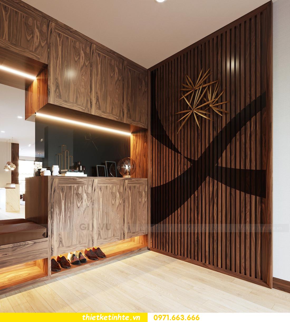 thiết kế nội thất căn hộ chung cư Metropolis tòa M2 căn 11 chú Minh 01