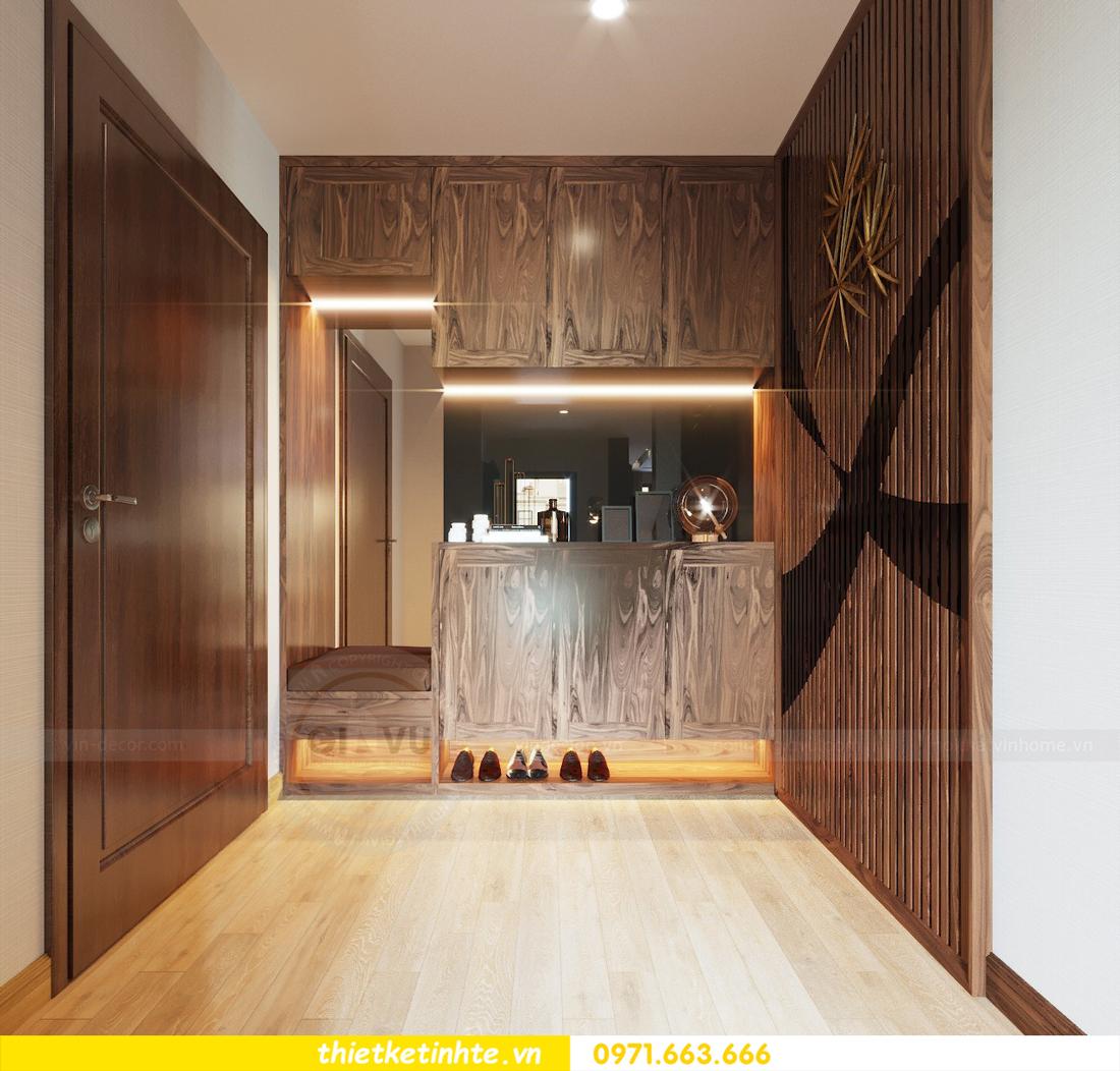 thiết kế nội thất căn hộ chung cư Metropolis tòa M2 căn 11 chú Minh 02