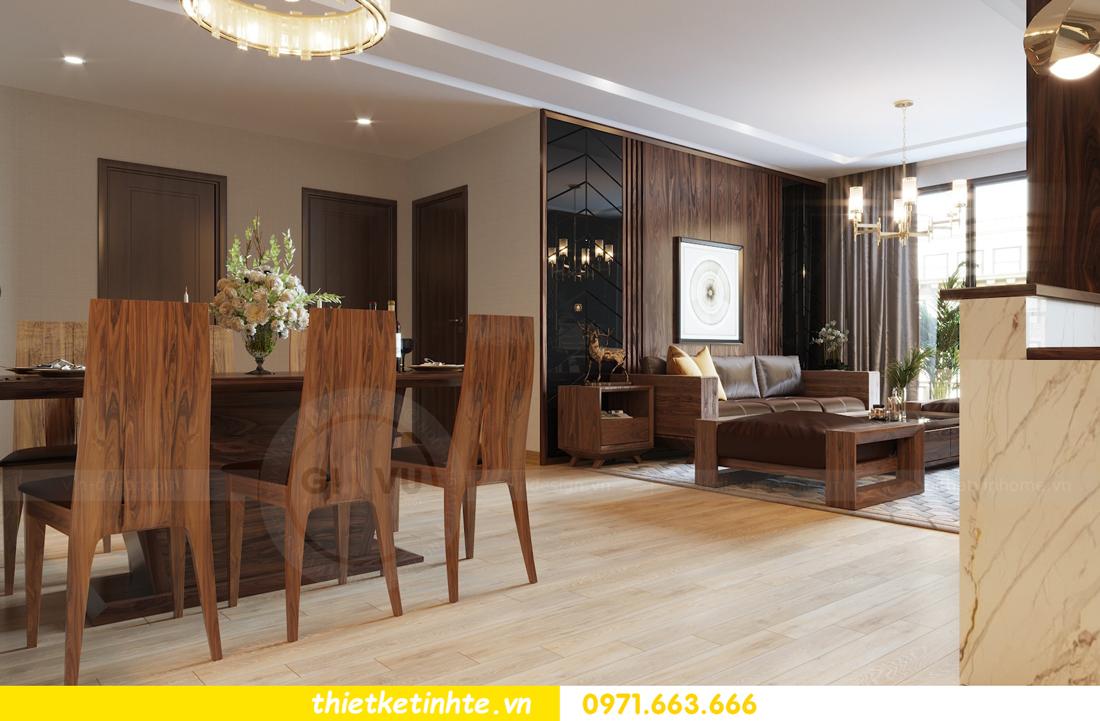 thiết kế nội thất căn hộ chung cư Metropolis tòa M2 căn 11 chú Minh 03