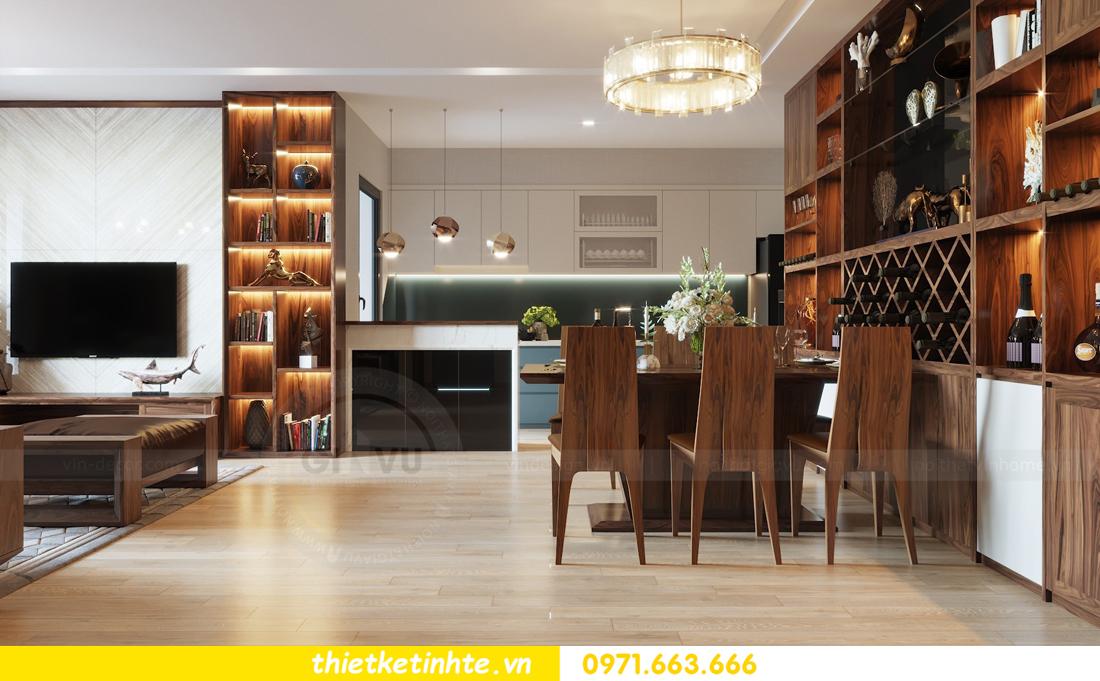 thiết kế nội thất căn hộ chung cư Metropolis tòa M2 căn 11 chú Minh 04