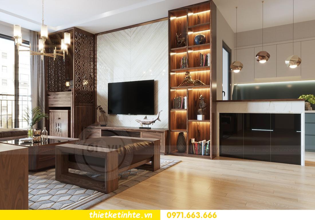 thiết kế nội thất căn hộ chung cư Metropolis tòa M2 căn 11 chú Minh 05