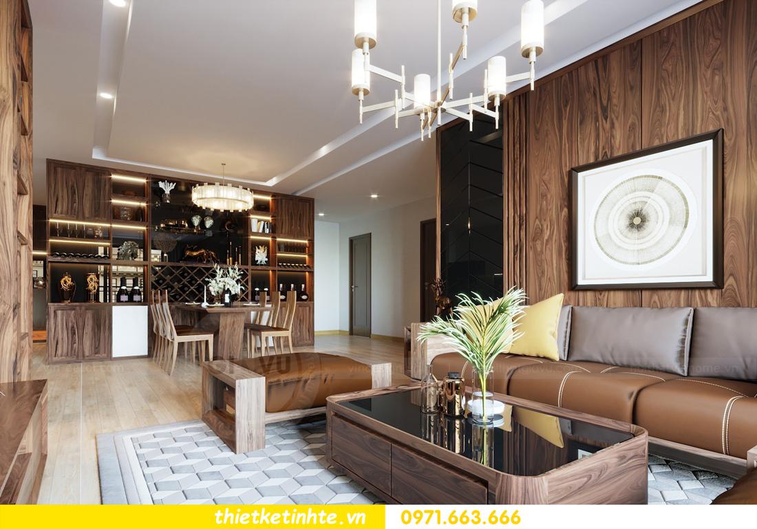 thiết kế nội thất căn hộ chung cư Metropolis tòa M2 căn 11 chú Minh 06