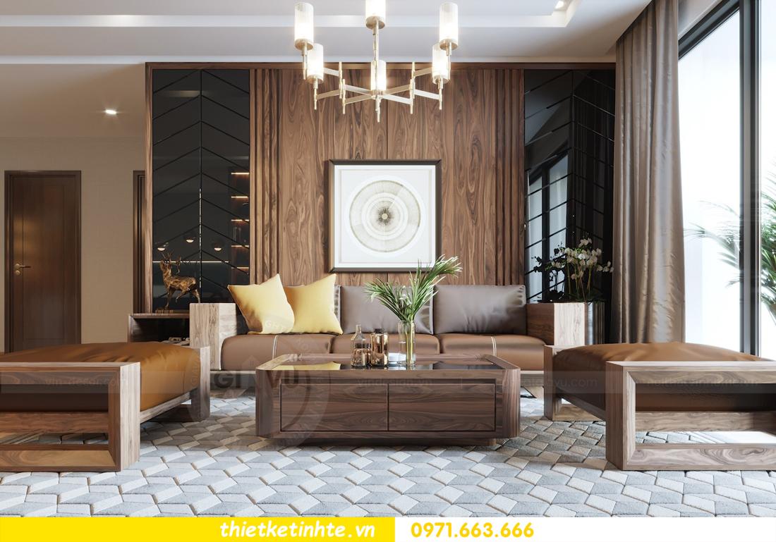 thiết kế nội thất căn hộ chung cư Metropolis tòa M2 căn 11 chú Minh 07