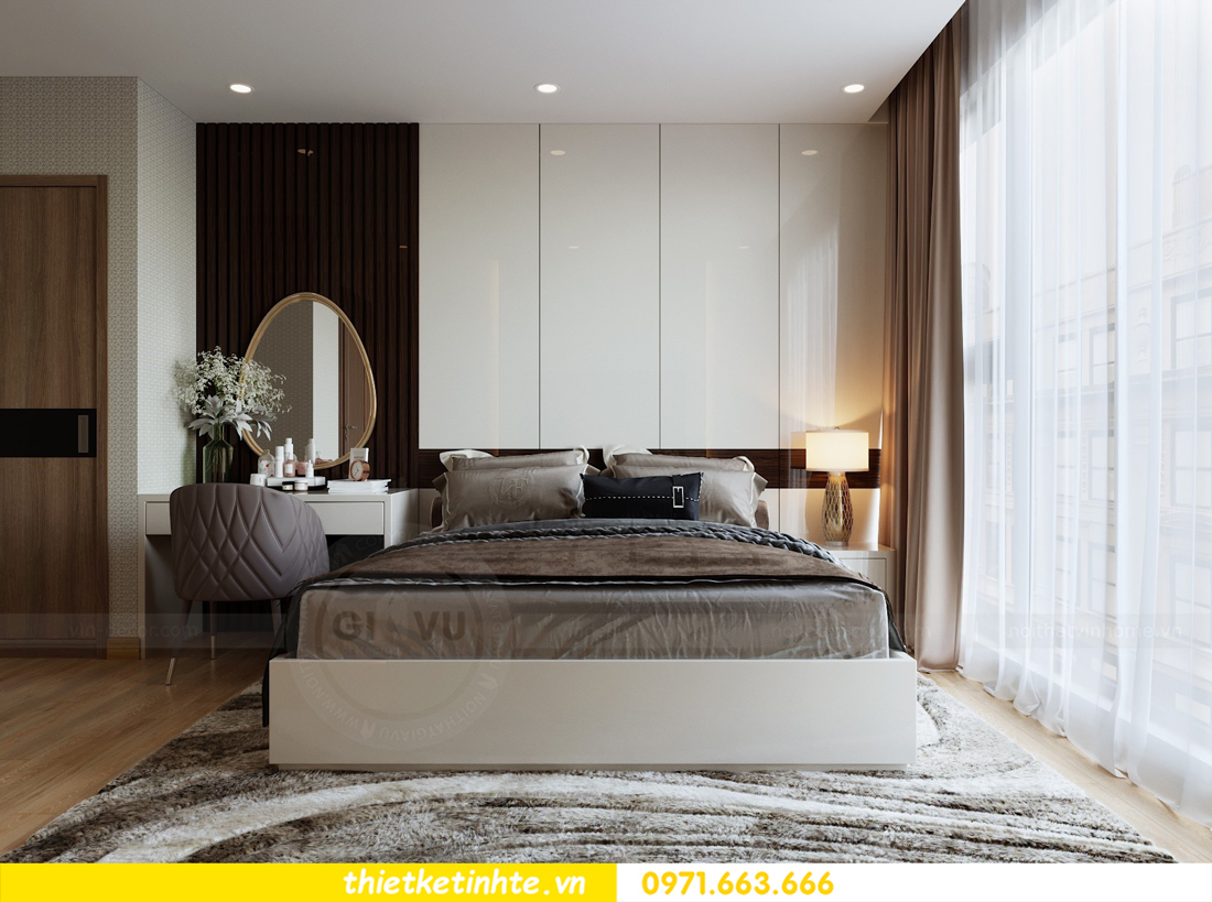 thiết kế nội thất căn hộ chung cư Metropolis tòa M2 căn 11 chú Minh 08