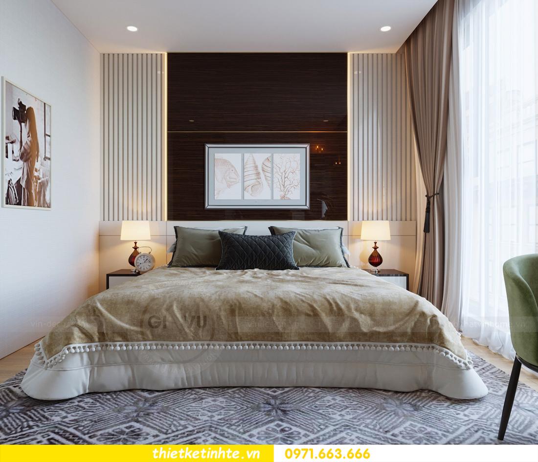thiết kế nội thất căn hộ chung cư Metropolis tòa M2 căn 11 chú Minh 10
