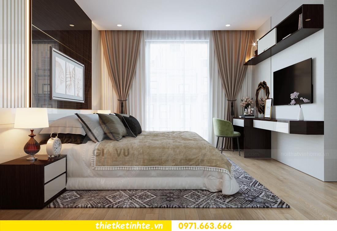 thiết kế nội thất căn hộ chung cư Metropolis tòa M2 căn 11 chú Minh 11