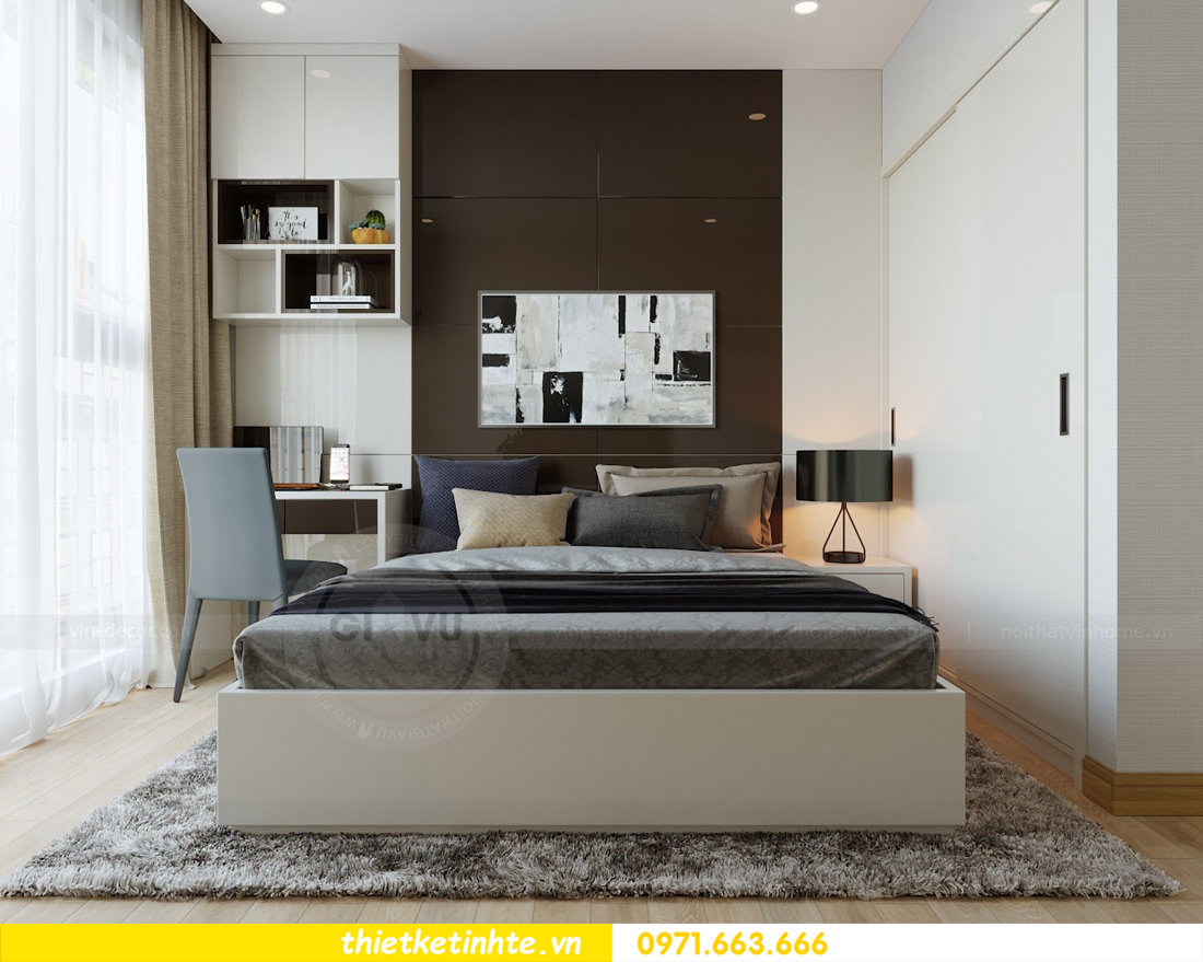 thiết kế nội thất căn hộ chung cư Metropolis tòa M2 căn 11 chú Minh 12