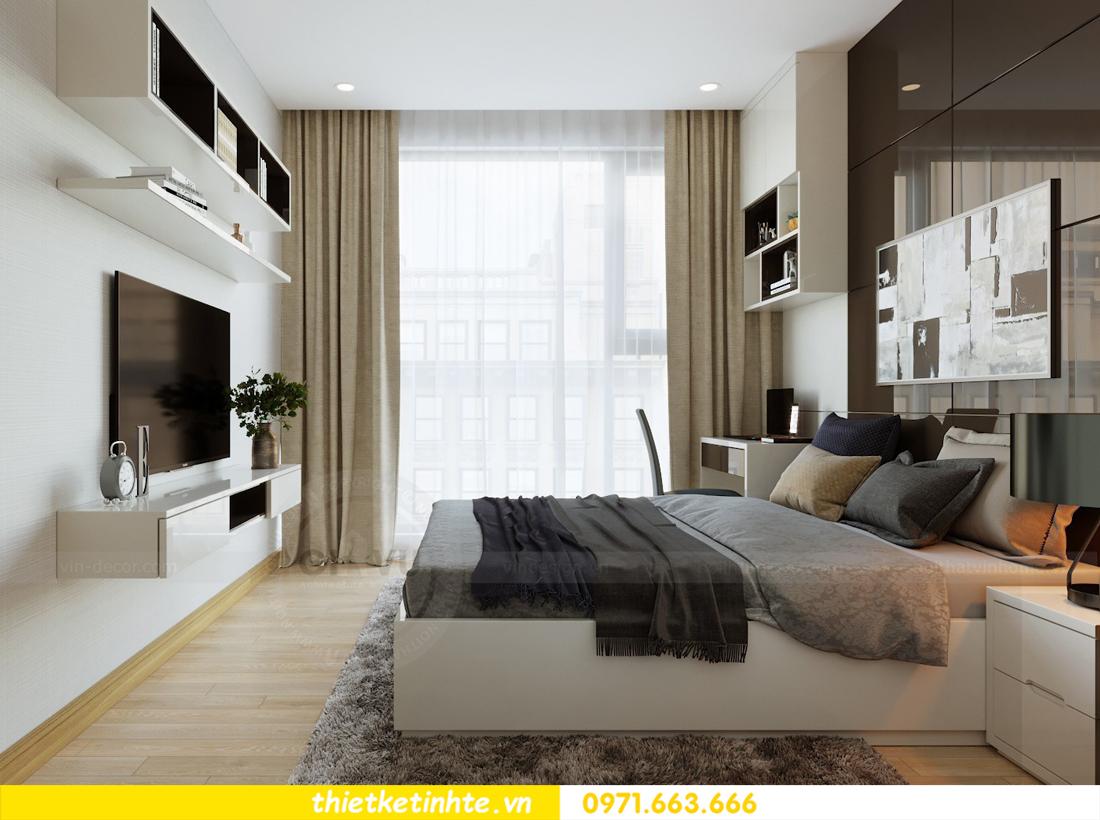 thiết kế nội thất căn hộ chung cư Metropolis tòa M2 căn 11 chú Minh 13