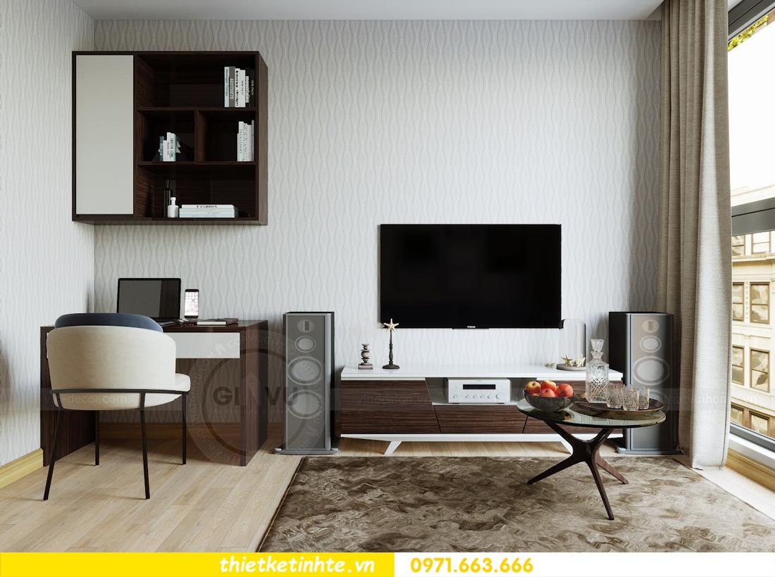 thiết kế nội thất căn hộ chung cư Metropolis tòa M2 căn 11 chú Minh 15