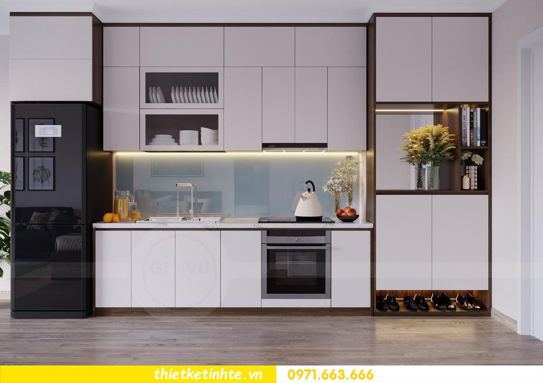 thiết kế nội thất căn hộ Soho tòa C5 căn 12 Vinhomes D Capitale 02