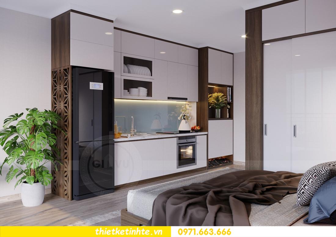 thiết kế nội thất căn hộ Soho tòa C5 căn 12 Vinhomes D Capitale 03