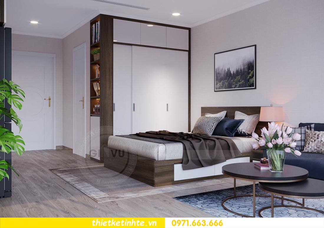 thiết kế nội thất căn hộ Soho tòa C5 căn 12 Vinhomes D Capitale 04