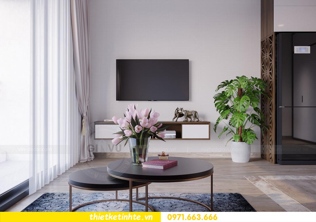 thiết kế nội thất căn hộ Soho tòa C5 căn 12 Vinhomes D Capitale 05